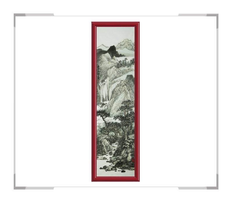中国美术家协会会员夏佩珊-竖幅山水作品二