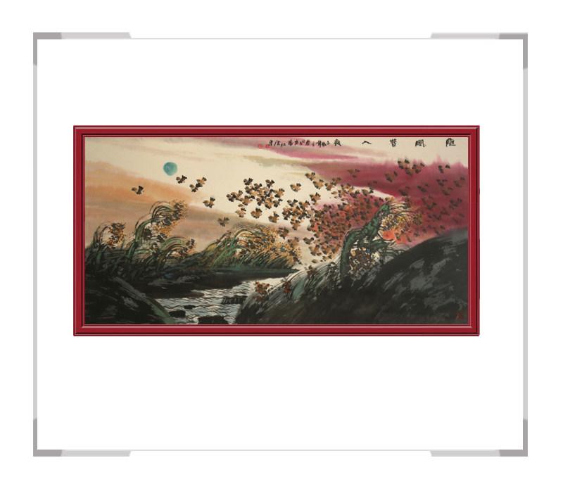 中国美术家协会会员张北云作品-风景画第一款