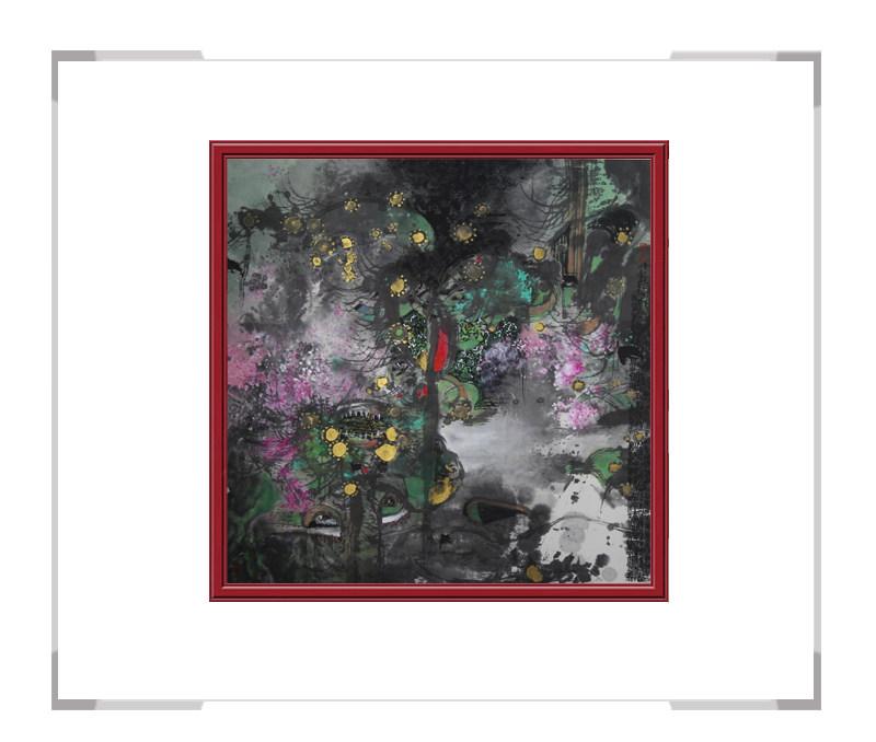 中国美术家协会会员张北云作品-风景画第二款