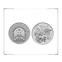 2018年吉祥文化金银币 寿居耄耋30克银币
