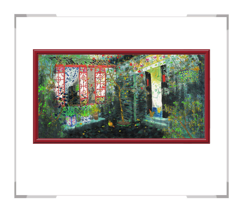 中国美术家协会会员画家方向作品