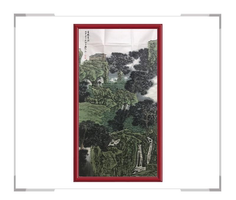 中国美术家协会会员满维起-竖幅山水作品