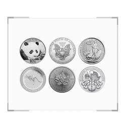 《环球财富》世界六大投资银币