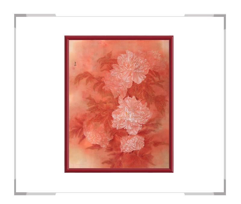 中国美术家协会会员张合红作品-妙笔生花弄微红