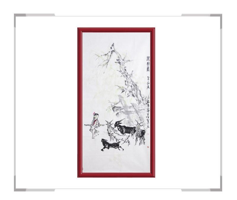 中国美术家协会会员张秀萍-竖幅动物主题作品一