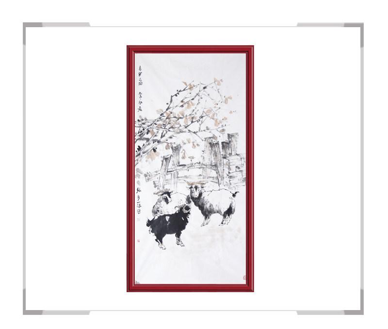 中国美术家协会会员张秀萍-竖幅动物主题作品二