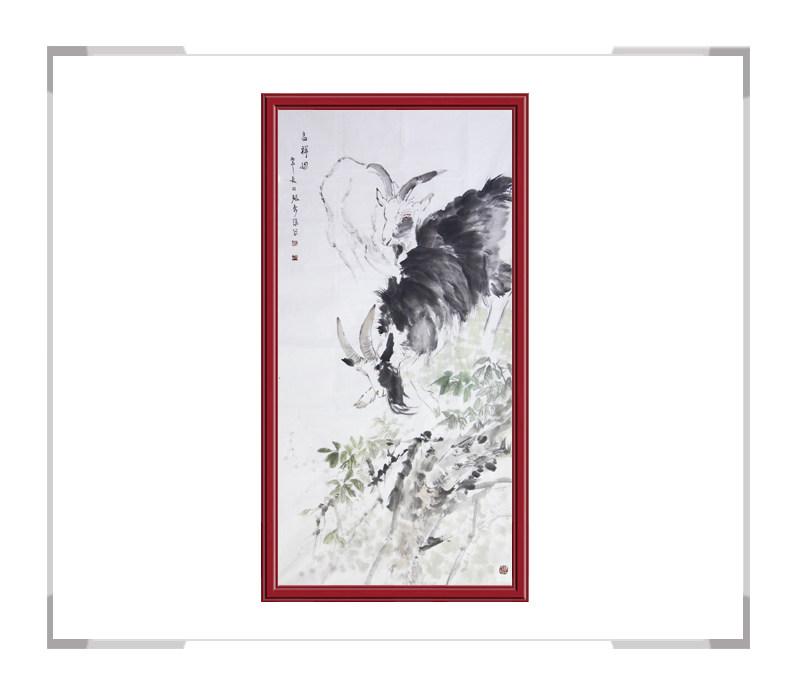 中国美术家协会会员张秀萍-竖幅动物主题画