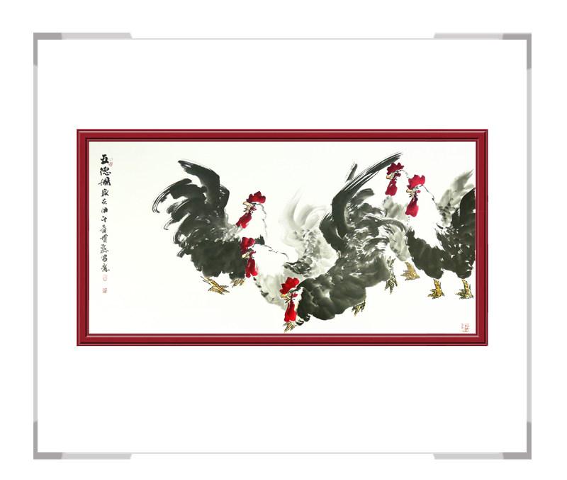 中国美术家协会会员张增丽老师-花鸟画作品一