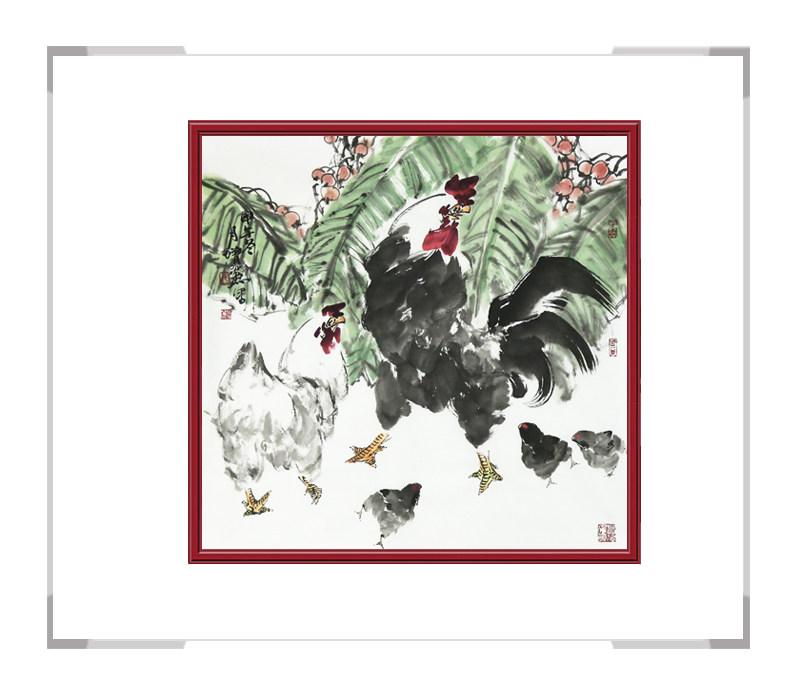 中国美术家协会会员张增丽老师-花鸟画作品二