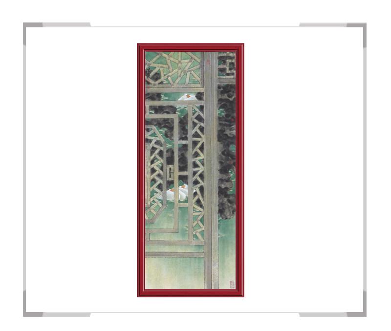 中国美术家协会会员张增丽-花鸟画六条屏之一