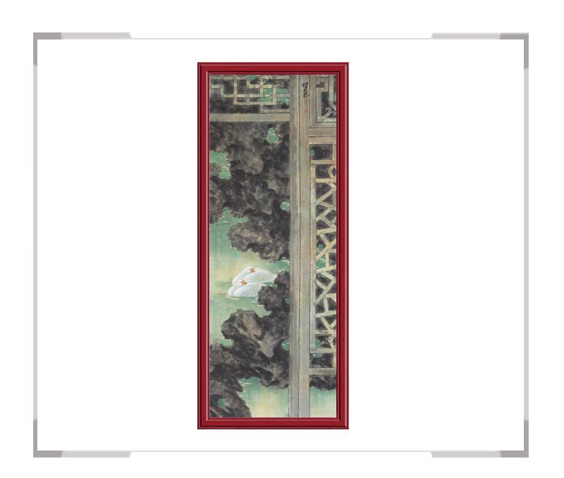 中国美术家协会会员张增丽-花鸟画六条屏之二