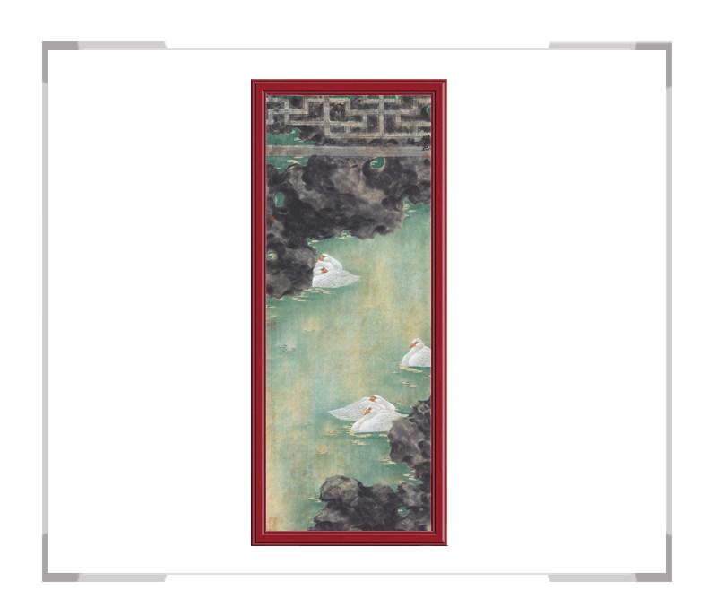 中国美术家协会会员张增丽-花鸟画六条屏之四