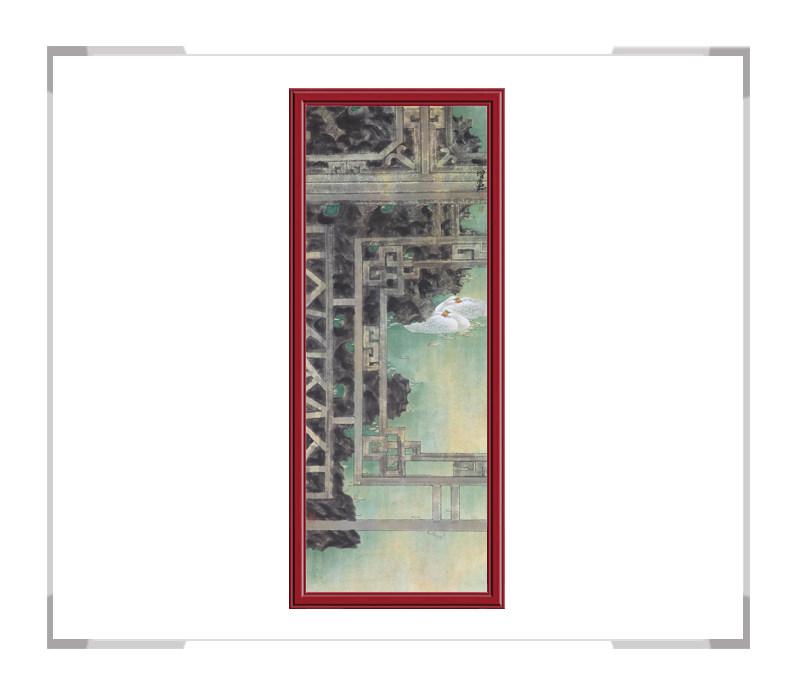 中国美术家协会会员张增丽-花鸟画六条屏之五