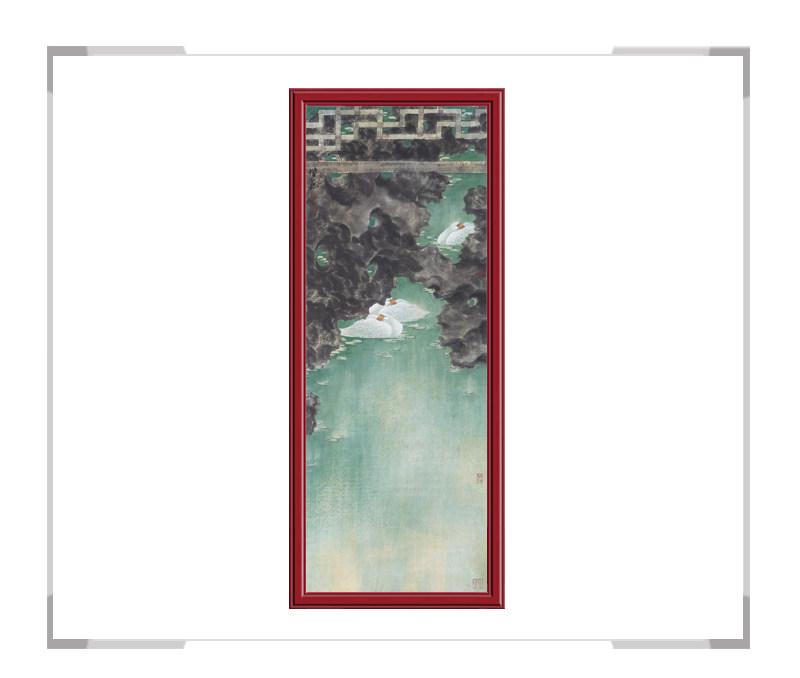 中国美术家协会会员张增丽-花鸟画六条屏之六