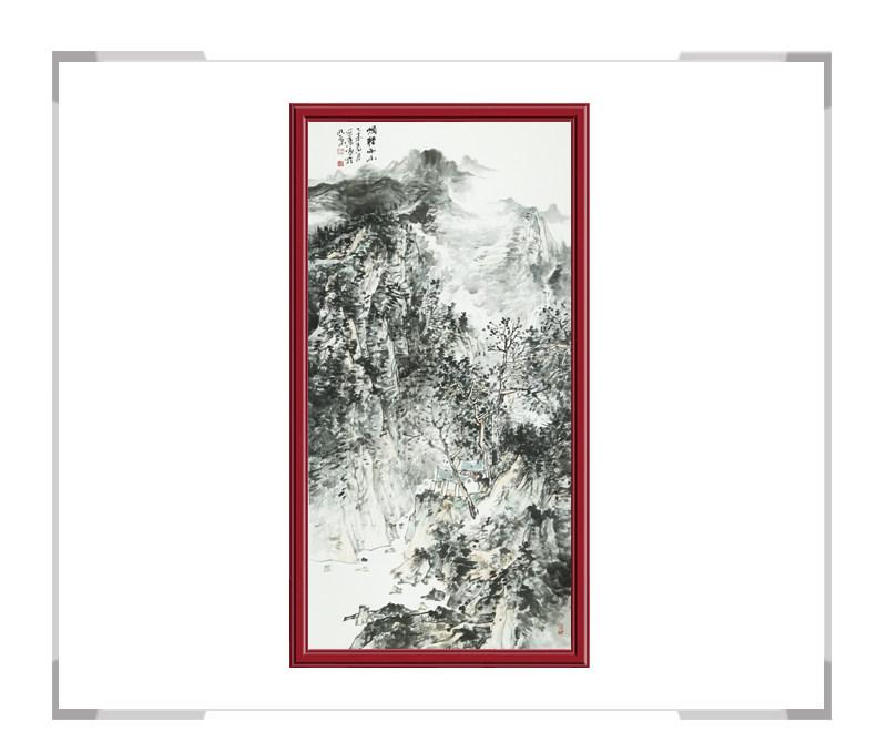 中国美术家协会张延东-竖幅山水画