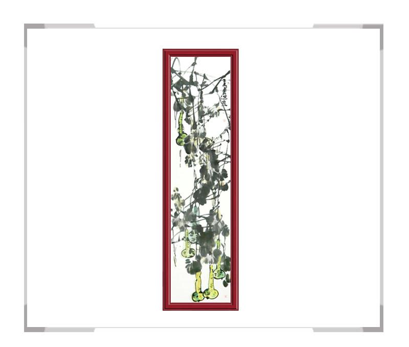 中国美术家协会会员张元吉-竖幅花鸟作品一