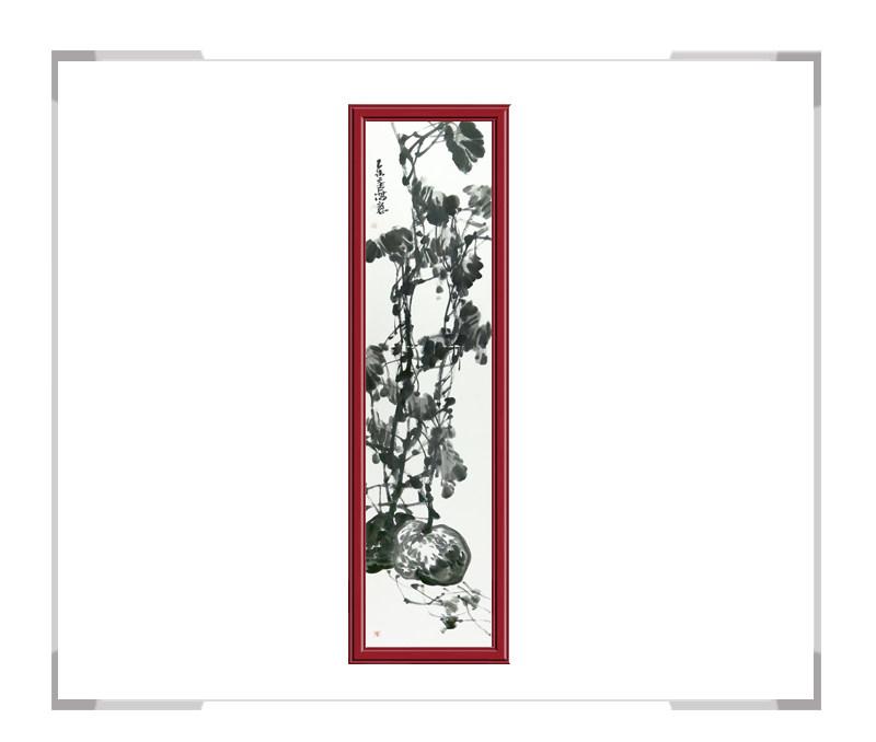 中国美术家协会会员张元吉-竖幅花鸟作品二