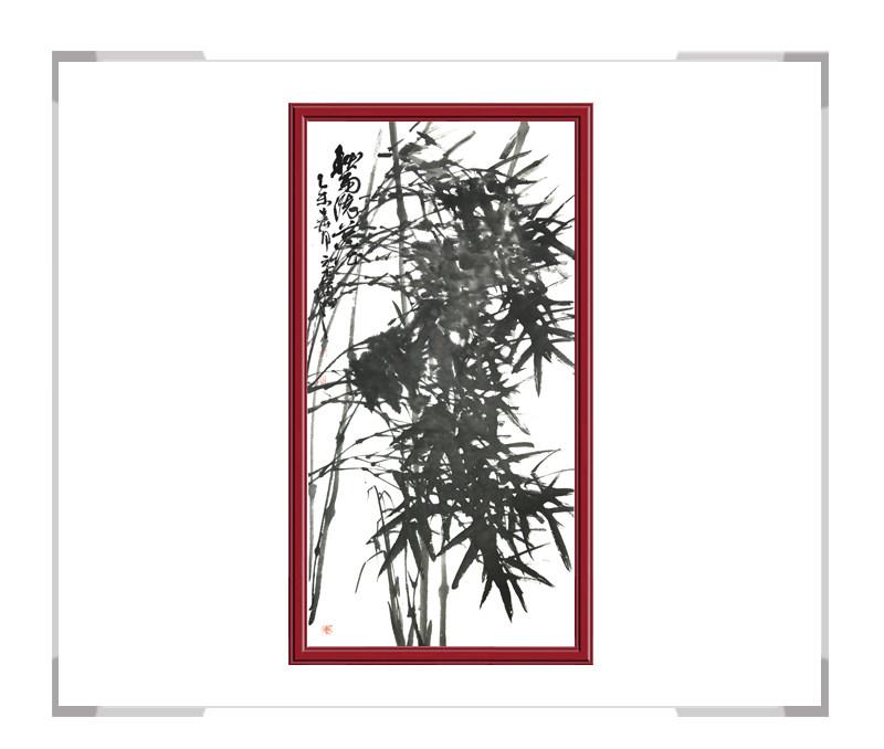 中国美术家协会会员张元吉作品-竖幅花鸟画