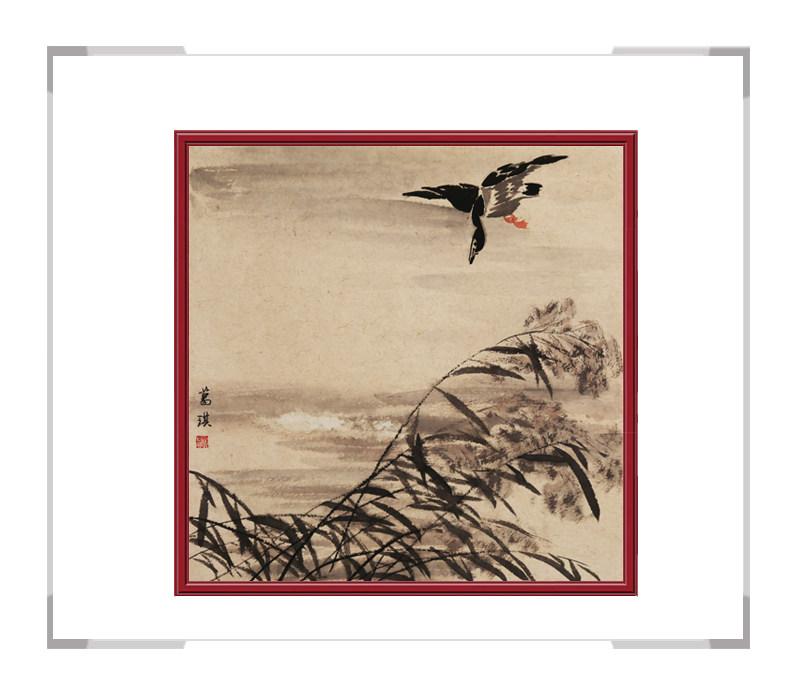 中国美术家协会会员葛琪老师-花鸟画作品二