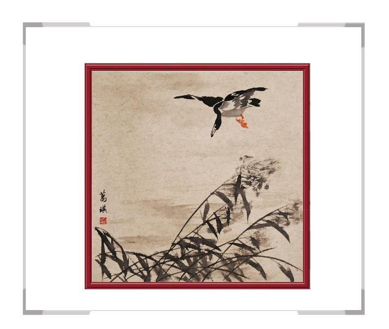 中国美术家协会会员葛琪老师-花鸟画作品三