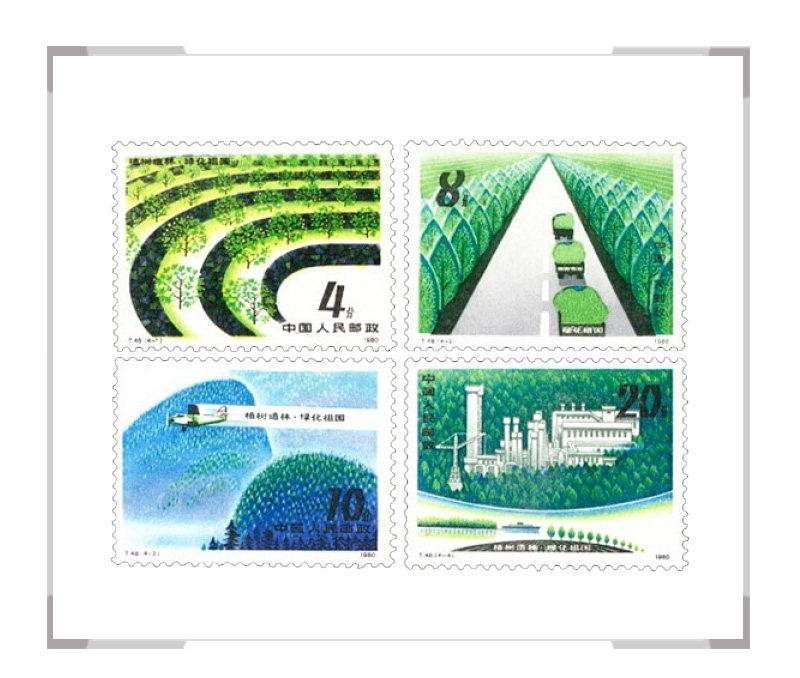 T48植树造林,绿化祖国