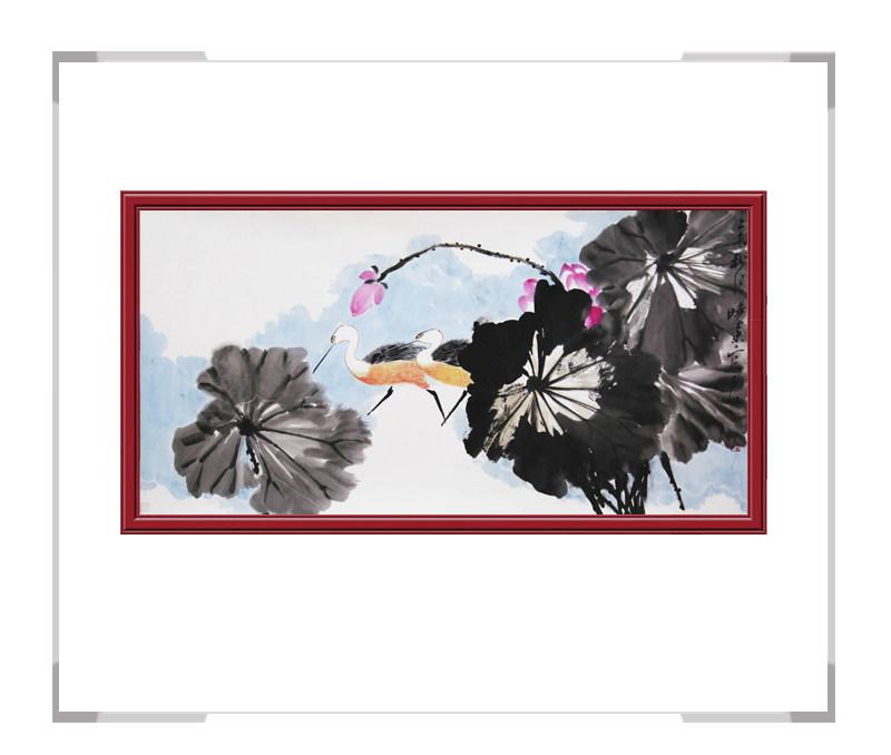 中国美术家协会会员刘晓东-横幅花鸟画作品二