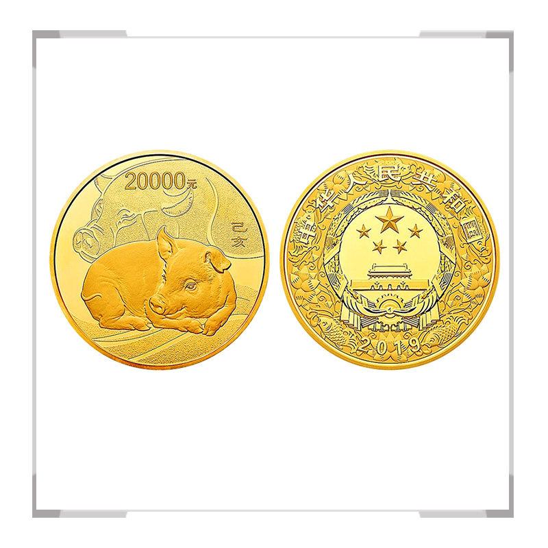 2019猪年生肖金银纪念币 2公斤金币