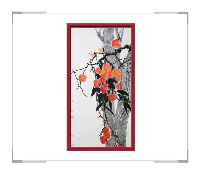 中国美术家协会刘晓东-竖幅花鸟画作品二