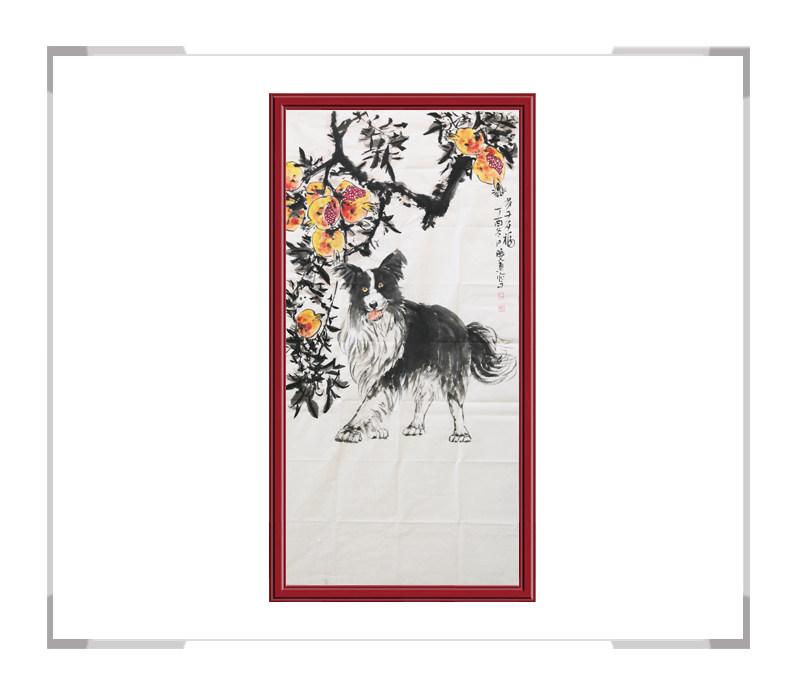 中国美术家协会刘晓东-竖幅花鸟作品一