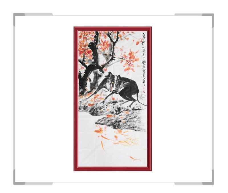 中国美术家协会刘晓东-竖幅花鸟作品二