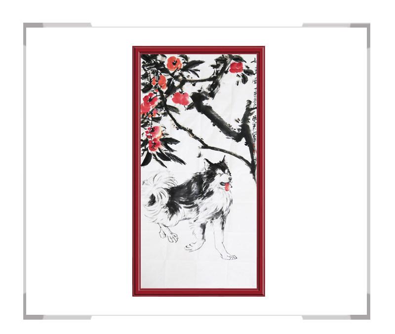 中国美术家协会会员画家刘晓东作品-竖幅花鸟画第二款
