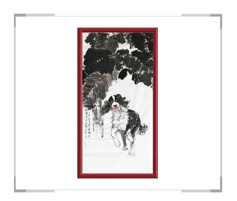 中国美术家协会会员画家刘晓东-竖幅花鸟作品二