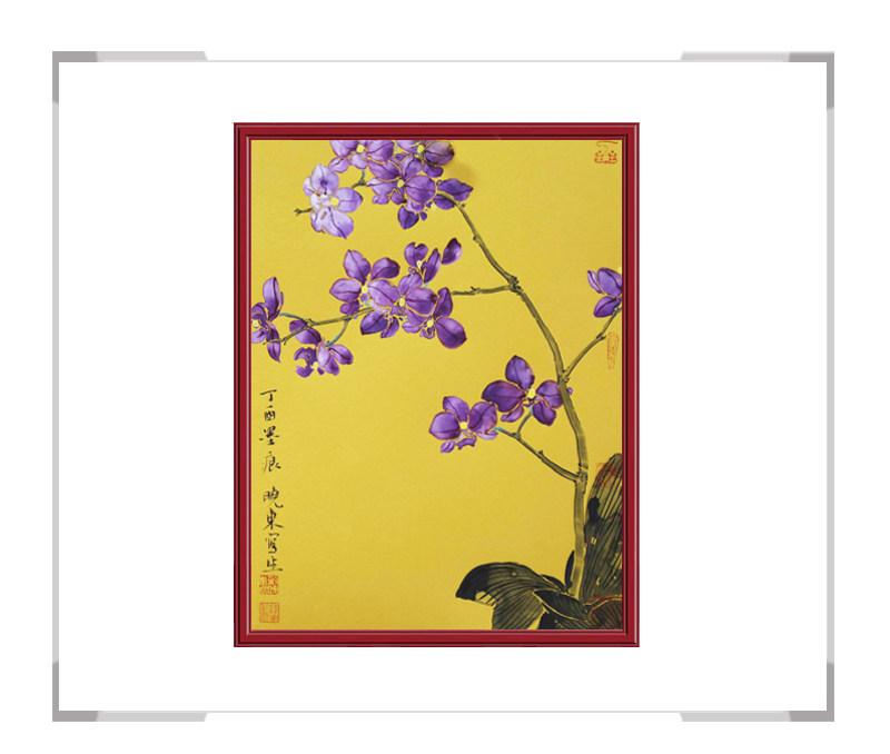 中国美术家协会会员画家刘晓东-花鸟竖幅作品二