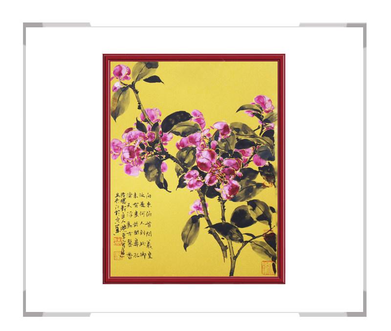 中国美术家协会会员刘晓东老师作品-竖幅花鸟画之一