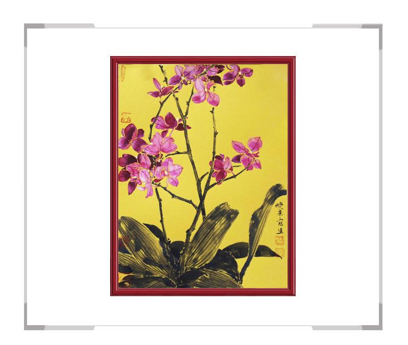 中国美术家协会会员刘晓东老师作品-竖幅花鸟画之二