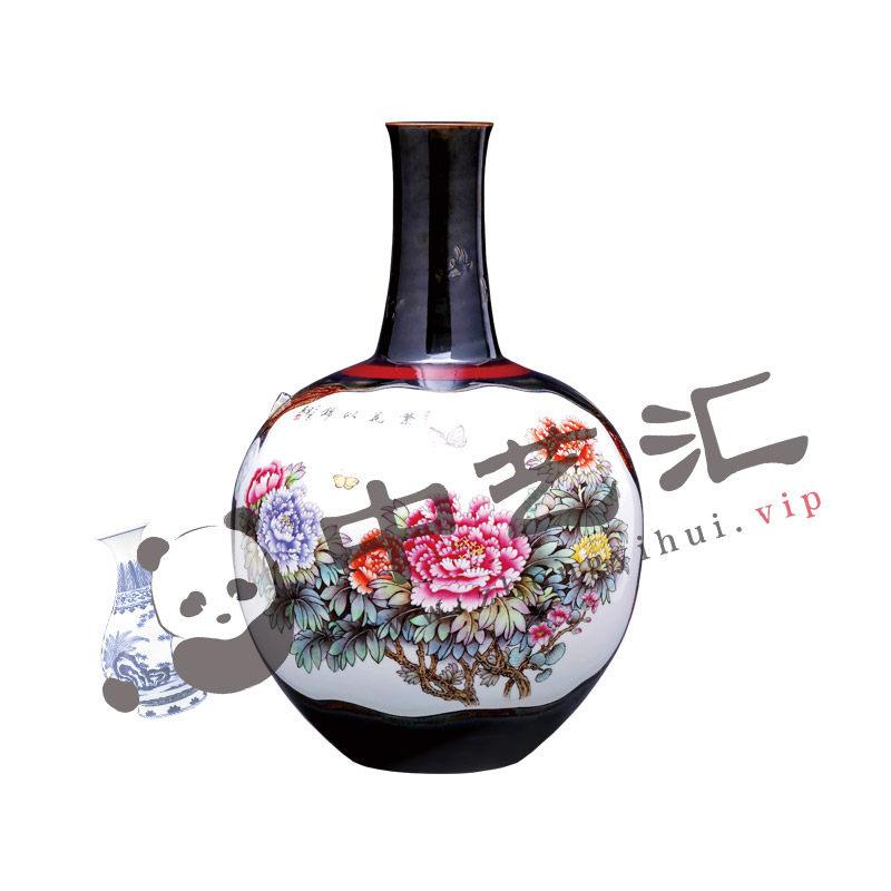 《峥嵘岁月七十载》-共庆盛世千秋瓶