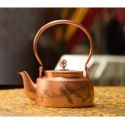 宫廷如意壶——《梅鹊双喜铜壶》