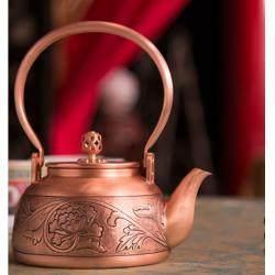 宫廷如意壶——《花开富贵铜壶》