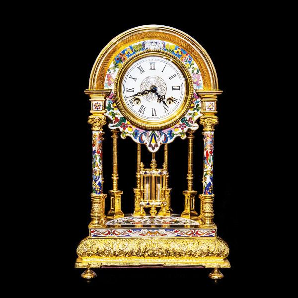 钟声平安·珐琅圆顶钟