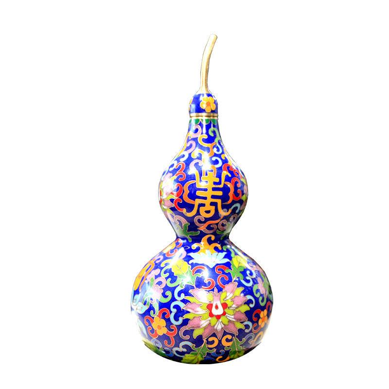 《紫金宝葫芦》——掐丝珐琅葫芦瓶(小号)